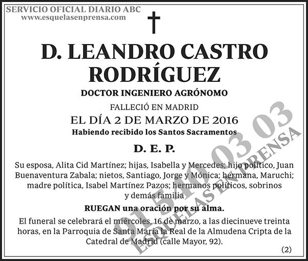 Leandro Castro Rodríguez